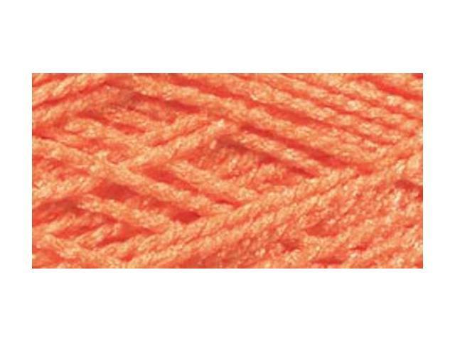 Needloft Craft Yarn 20 Yard Card-Bright Orange