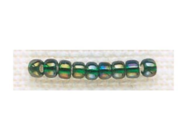 Mill Hill Glass Beads Size 8/0 3mm 6.0 Grams/Pkg-Golden Emerald