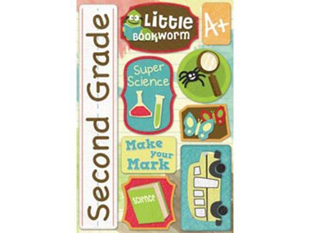 School Cardstock Stickers 5.5
