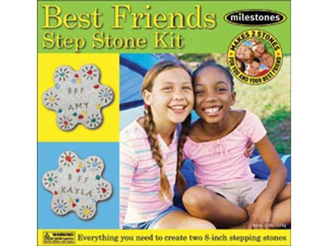 Mosaic Stepping Stone Kit-Best Friends