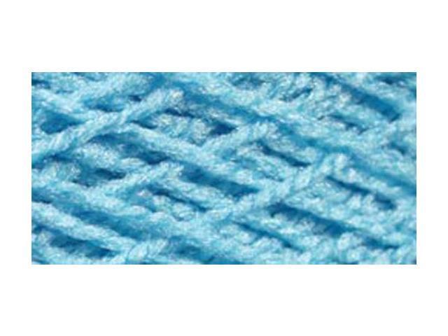 Needloft Craft Yarn 20 Yard Card-Bright Blue