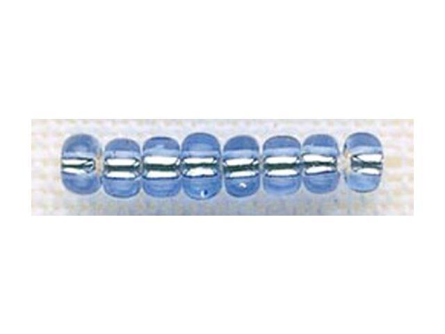 Mill Hill Glass Beads Size 6/0 4mm 5.2 Grams/Pkg-Crystal Blue