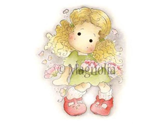 Special Moments Cling Stamp-Sakura Tilda