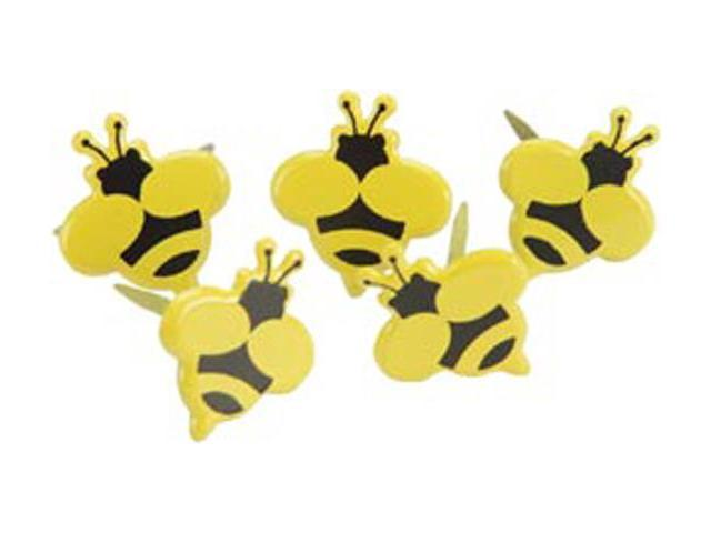 Eyelet Outlet Brads-Bumble Bee 12/Pkg