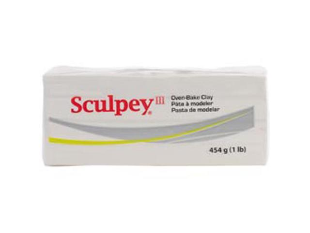 Sculpey III Polymer Clay 1lb-White