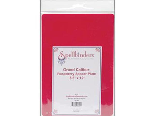 "Grand Calibur Spacer 8.5""X12.25""-Raspberry"