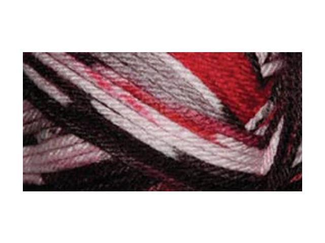Everyday Anti-Pilling Soft Worsted Prints Yarn-Lava
