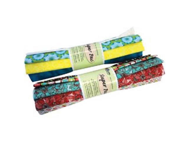 Fabric Palette Super Pack (8 1/4yd Pre-Cuts) 100% Cotton-Assorted
