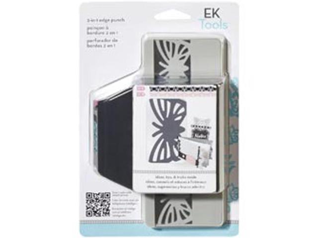 Slim 2 In 1 Edger Punch-Striped Butterfly