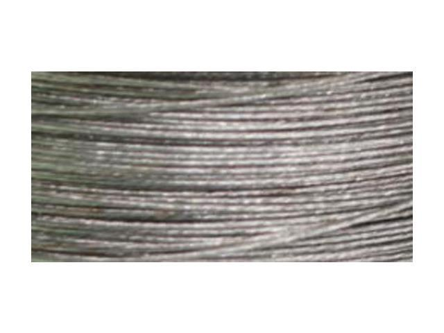 Cord Basics 7-Strand Beading Wire .3mmX40'-Silver