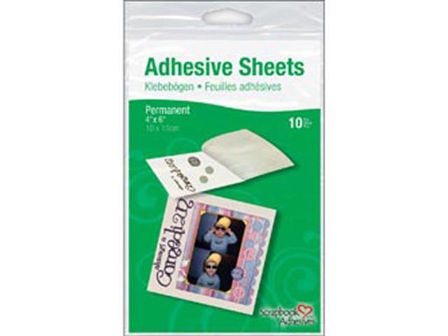 Permanent Adhesive Transfer Sheets 10/Pkg-3-5/16