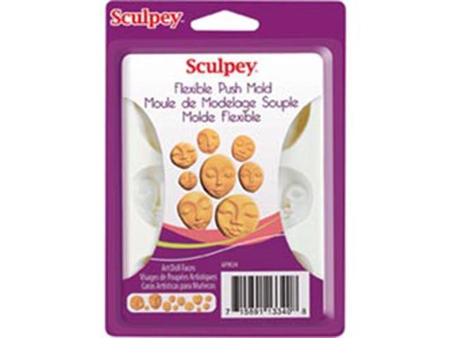 Sculpey Flexible Push Mold-Art Doll Faces