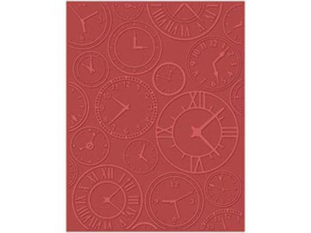 Embossing Folder Universal Size By Teresa Collins-About Time