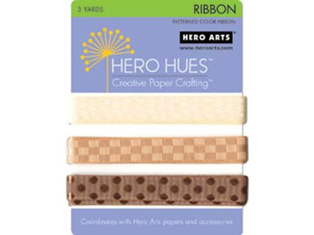 Hero Hues Ribbon 3 yards-Earth