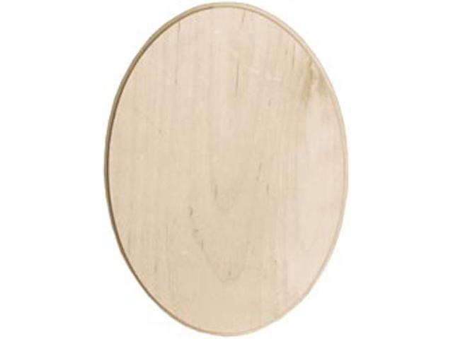 Baltic Birch Oval Plaque-5