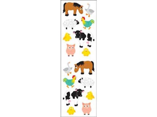 Mrs. Grossman's Stickers-Chubby Farm Animals