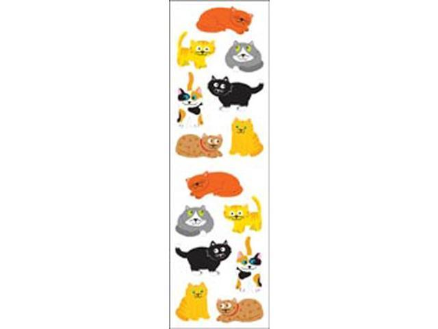 Mrs. Grossman's Stickers-Chubby Cats