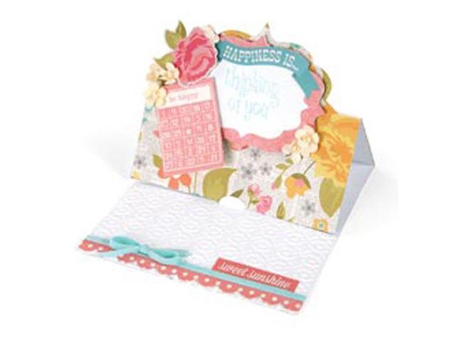 Sizzix Movers & Shapers XL Base Die-Card; Fancy Label Stand-Ups