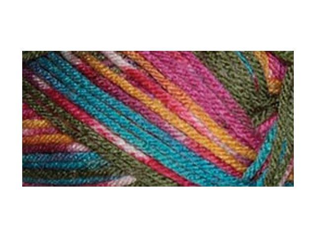 Everyday Anti-Pilling Soft Worsted Prints Yarn-Parrot