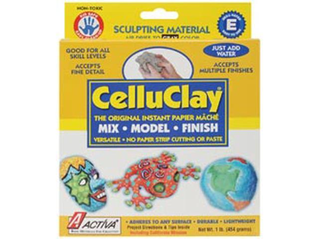 CelluClay Instant Paper-Mache 1lb-Gray