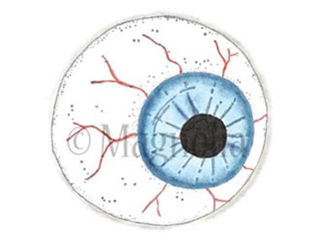 So Spooky Cling Stamp-Spooky Eye
