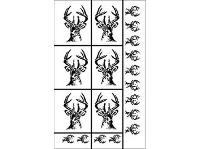 Rub 'n' Etch Glass Etching Stencils 5
