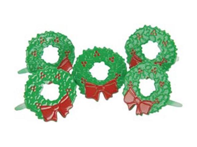 Eyelet Outlet Brads-Wreath 12/Pkg