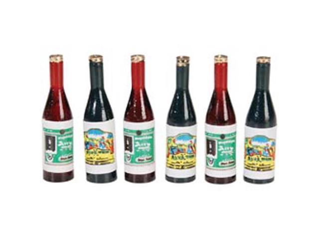 Timeless Miniatures-Wine Bottles 6/Pkg