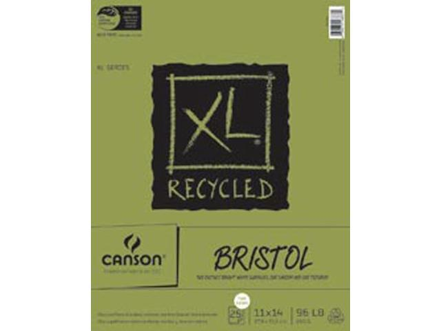 Canson XL Recycled Bristol Paper Pad 11