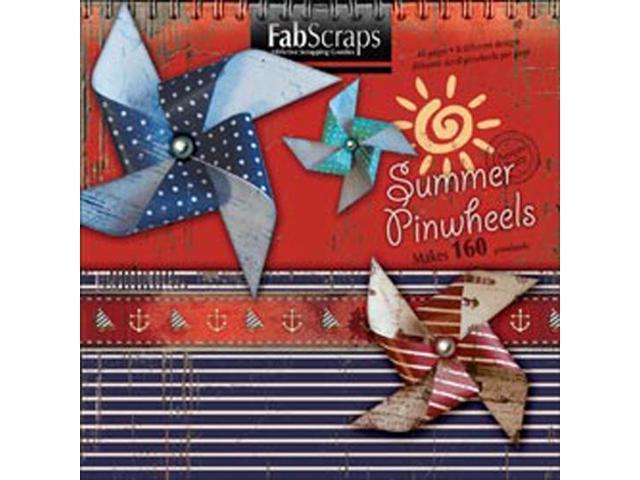 Summer Die-Cut Book-Makes 160 Pinwheels