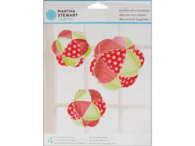 Patchwork Ornaments 4/Pkg-Holiday Cheer