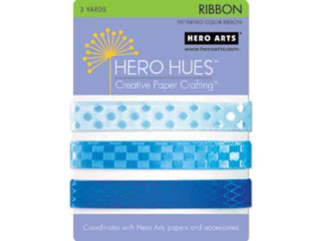 Hero Hues Ribbon 3 yards-Sea