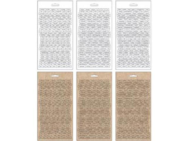 Idea-Ology Chitchat Stickers 1088/Pkg-