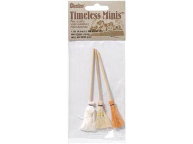 Timeless Minatures-Mops & Brooms 3/Pkg