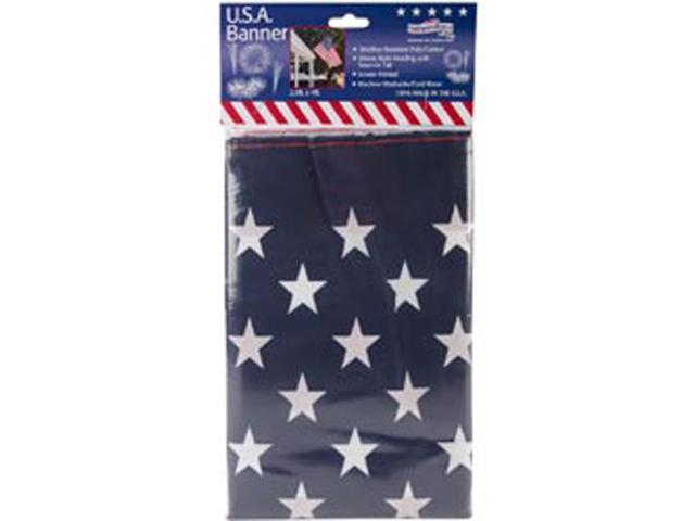 Poly/Cotton US Banner 2.5'X 4'-