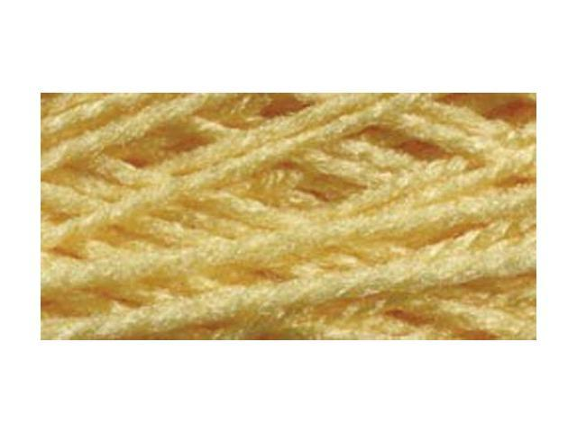 Needloft Craft Yarn 20 Yard Card-Yellow