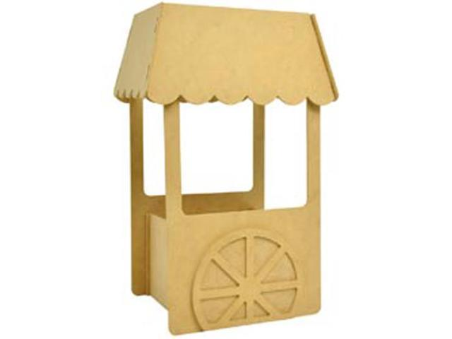 Beyond The Page MDF Small Candy Cart-11