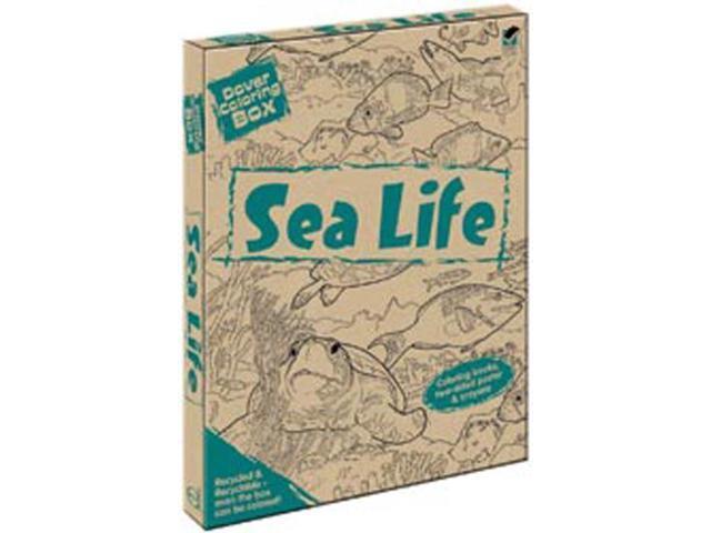 Dover Coloring Box Kit-Sea Life