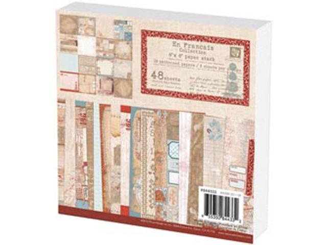 En Francais Paper Stack 6