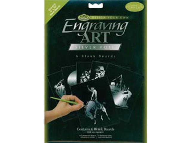Foil Engraving Art Blank Boards 8