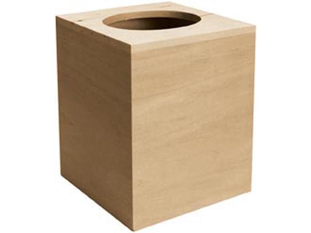 Basswood Boutique Tissue Box-5.12