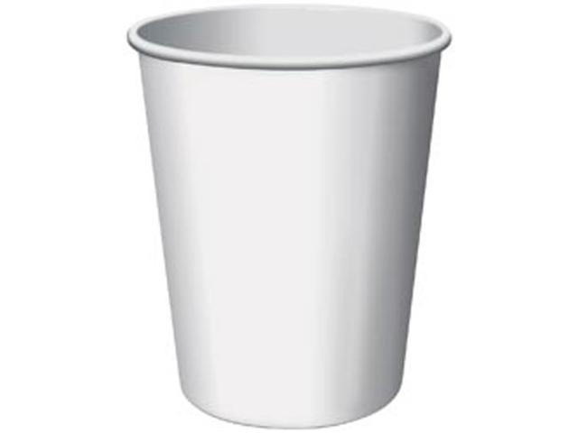 Paper Hot & Cold Cups 9 Ounces 24/Pkg-White