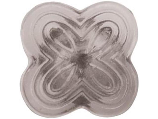 Upholstery Decorative Twist Pins 10/Pkg-Smoke Tint Decorative Head