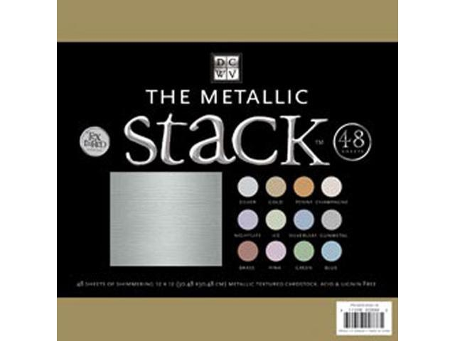 Metallic Cardstock Stack 12