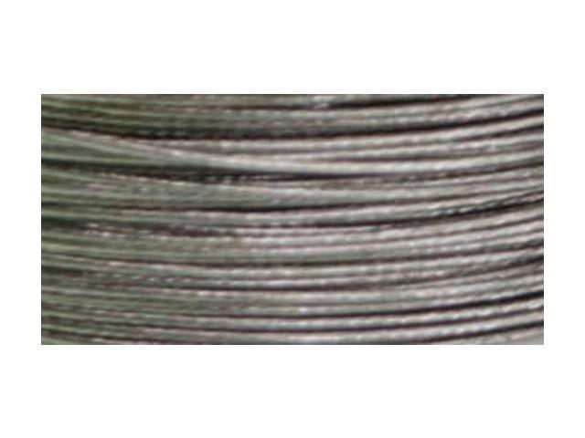 Cord Basics 7-Strand Beading Wire .45mmX40'-Silver