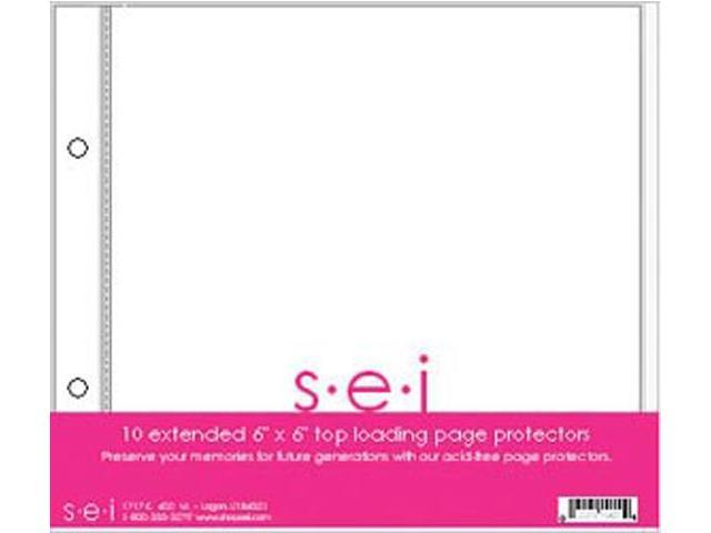 S.E.I. Postbound Page Protectors 6