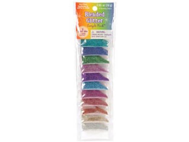 Blended Color Glitter Sampler-