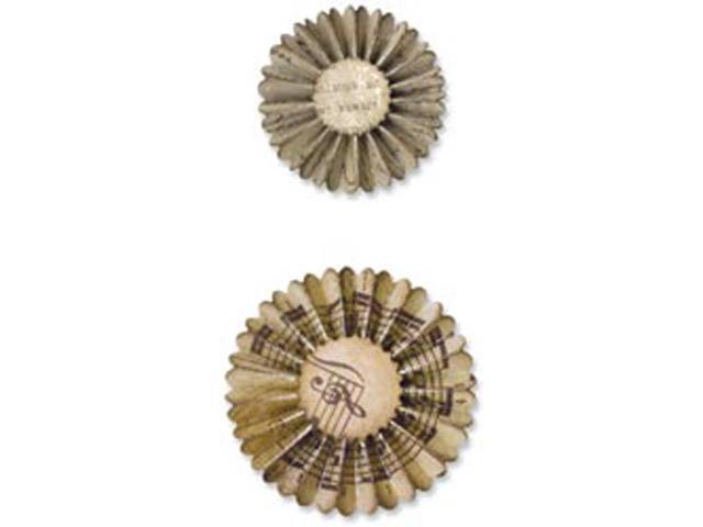 Sizzix Sizzlits Decorative Strip Die By Tim Holtz-Mini Paper Rosettes
