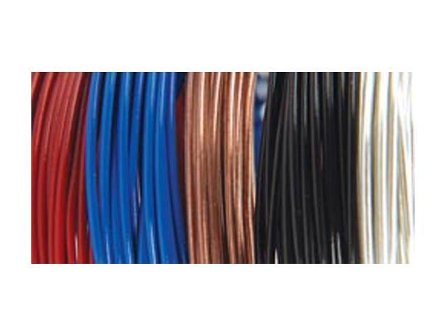 Plastic Coated Fun Wire Value Pack 9' Coils-Primary - 22 Gauge 5/Pkg