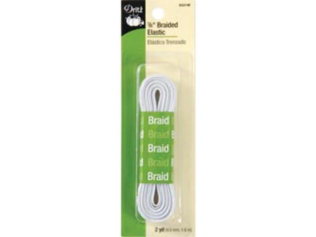 Braided Elastic 3/8